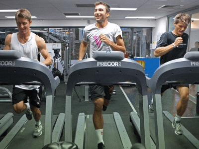 2. They exercise.