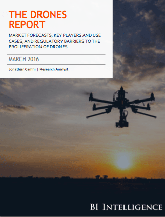 Drones Report Cover