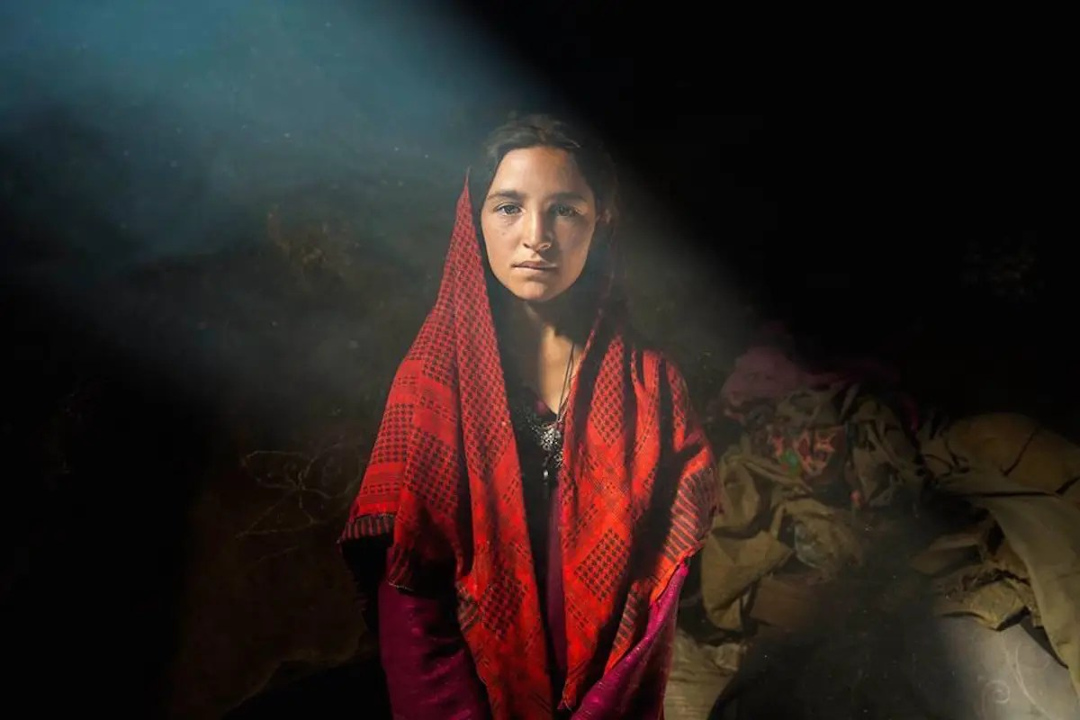 "Noroc photographed women in the Wakhan Corridor in Afghanistan. ""Although they live in a rough and isolated environment, Wakhi people are amazingly welcoming and friendly,"" Noroc says."