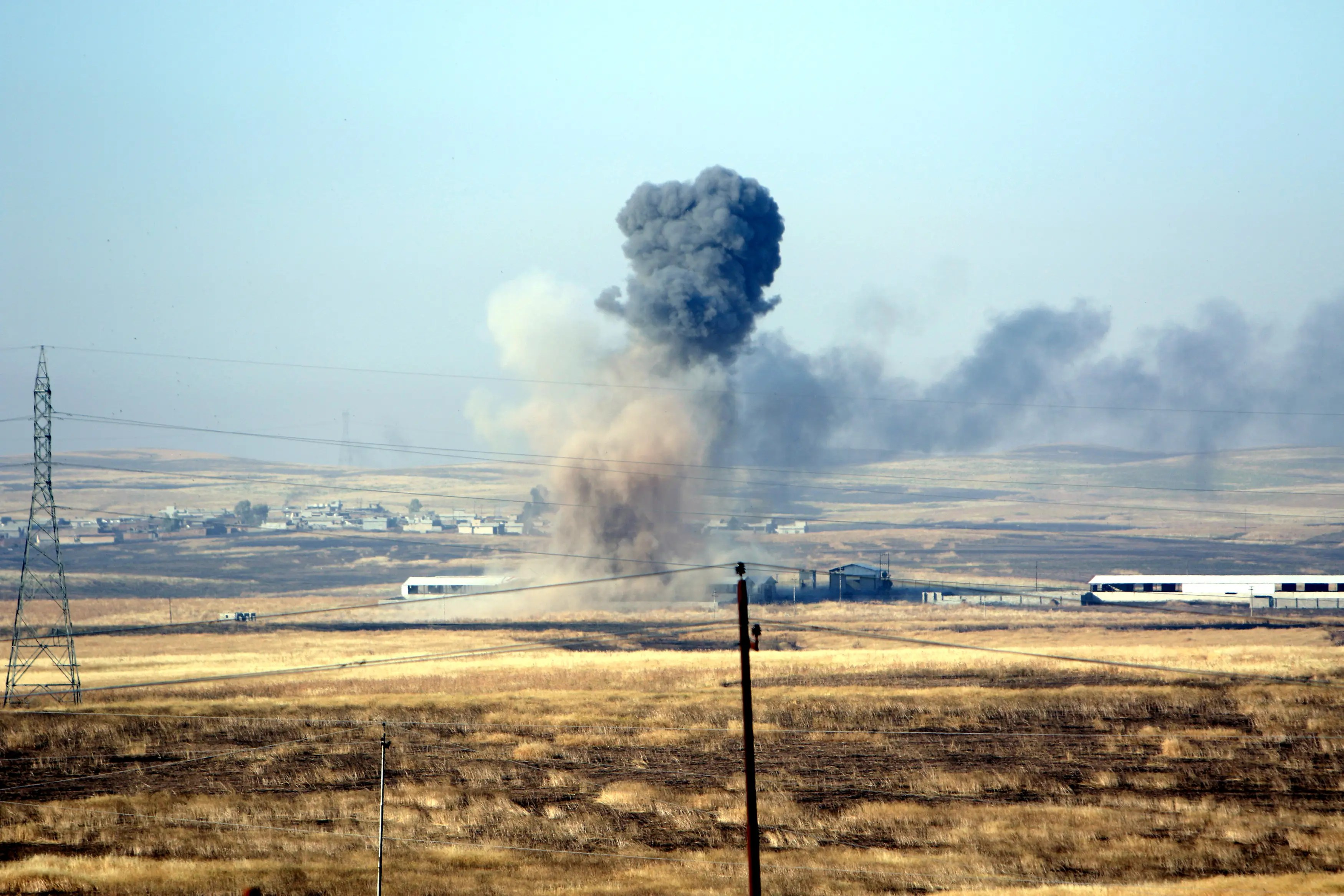 mosul iraq us airstrikes
