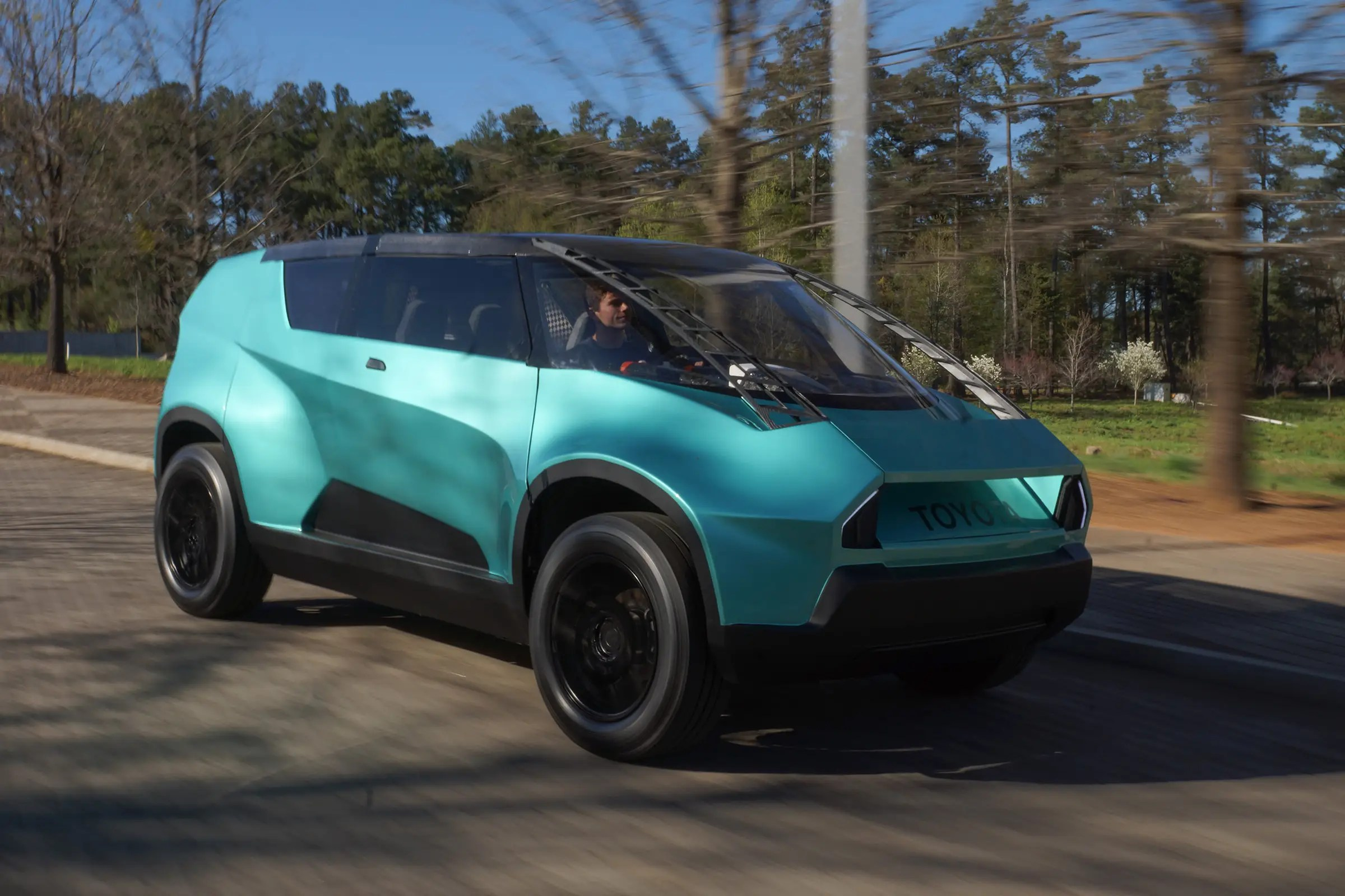Toyota unveiled a strange looking concept car dubbed the ubox to appeal to generation z in april