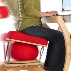 Ergonomic Chair Kickstarter Toddler Time Out With Timer Sprang Office Has An Exercise Ball Built In - Business Insider