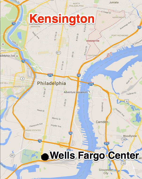 Wells Fargo Center Philadelphia Logo