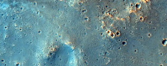 A possible landing site for the ExoMars 2020 mission, which the European Space Agency is running.