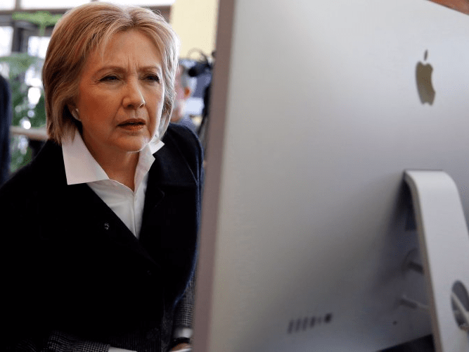 Hillary iMac