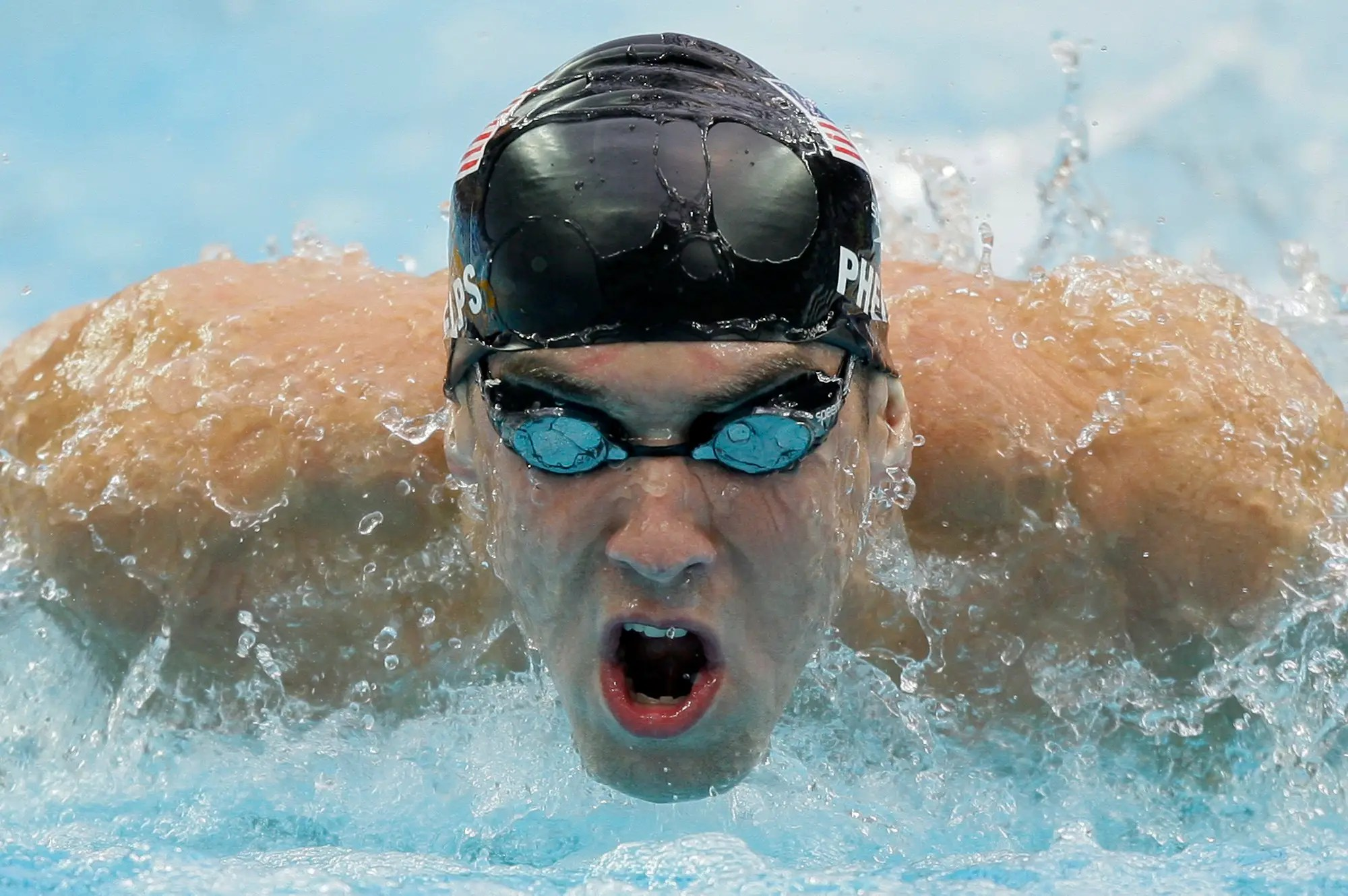 Beijing, 2008: 2008 was the year the world met Michael Phelps. The record-breaking US swimmer won eight gold medals that year, the most ever won in a single Olympic Games. He's now one of the most celebrated sportspeople in American history.