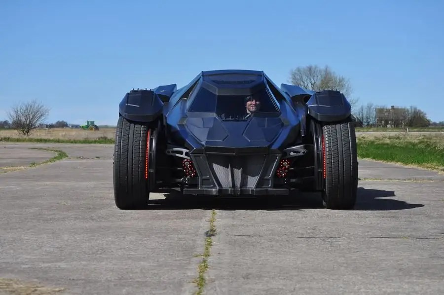 The Batmobile began its journey in the Gumball 3000 May 1 in Dublin, and made its way all the way to Bucharest, Romania by May 7.