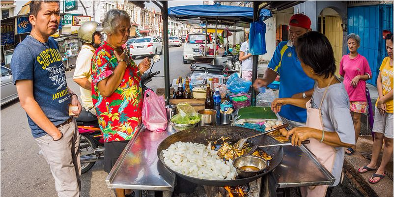 Penang is the street food capital of Asia
