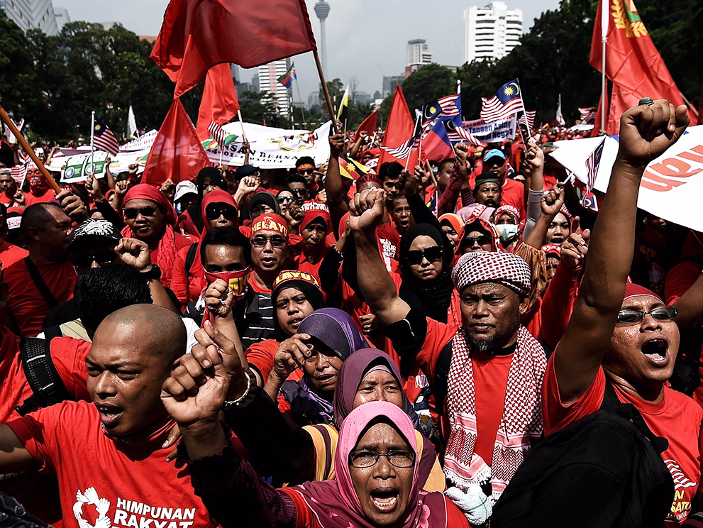 Malaysia has affirmative action … for the majority race