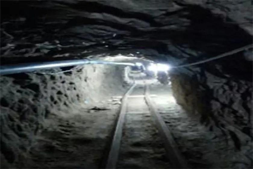 Cross-border tunnel San Diego Tijuana Mexico