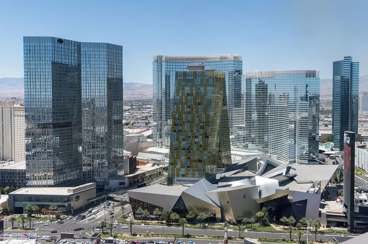 City Center in Las Vegas, Nevada.