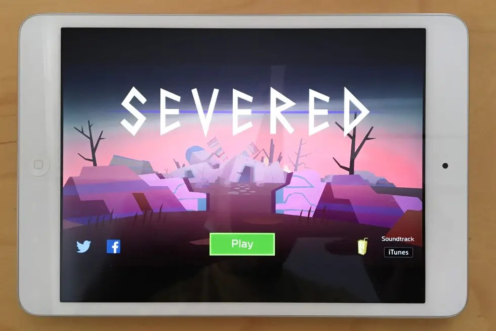 Severed, an intense sword-fighting game.