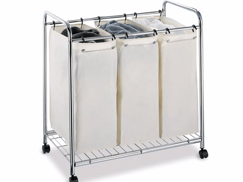 A separator for your laundry so you can do it automatically and not last-second at the laundromat.