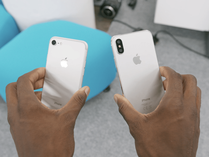 As the rumors claim, the iPhone 8 is said to come with a glass back, much like the iPhone 4 and 4S, versus the metal backs we've seen since the release of the iPhone 6.