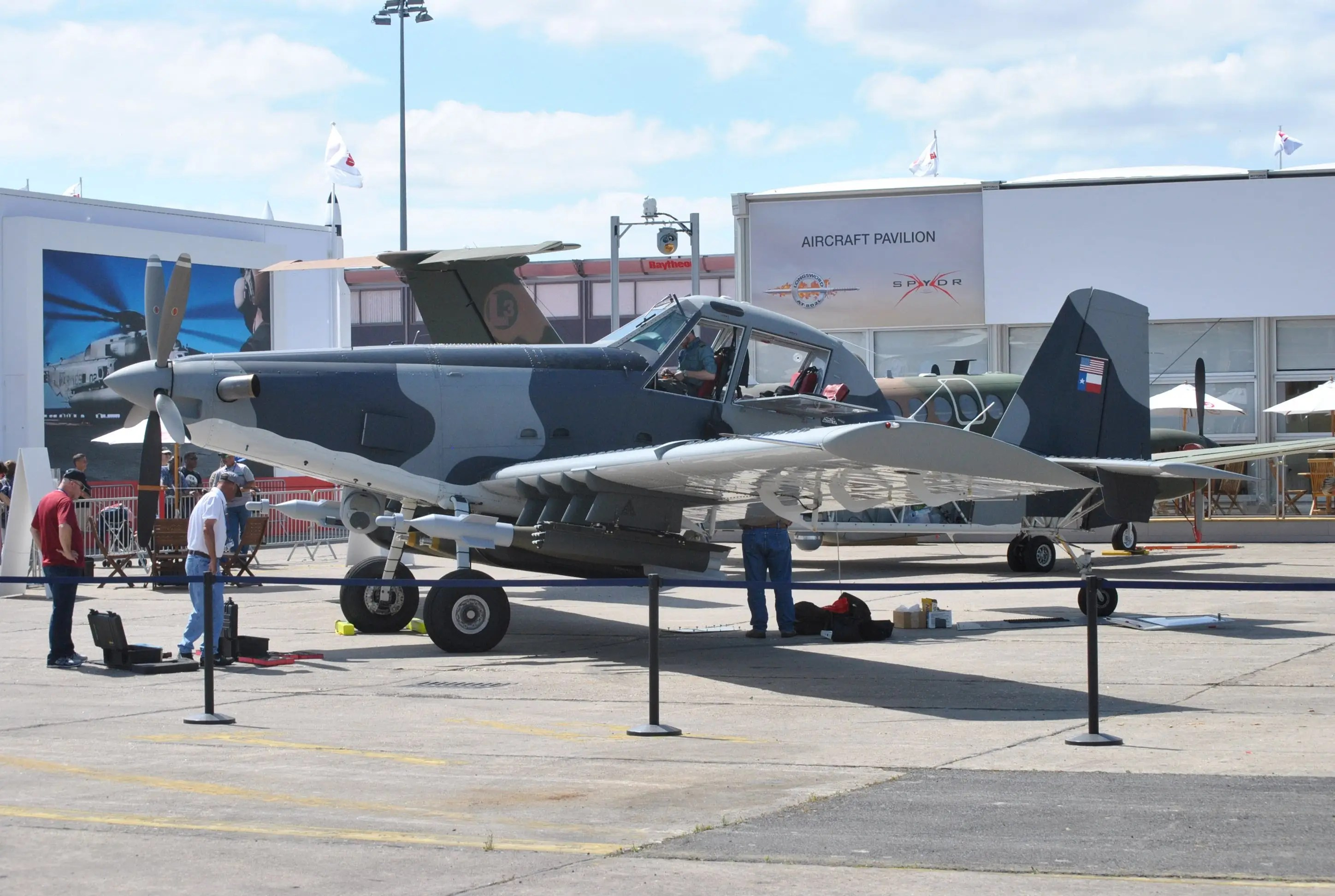 AT-802L Longsword Paris Air Show