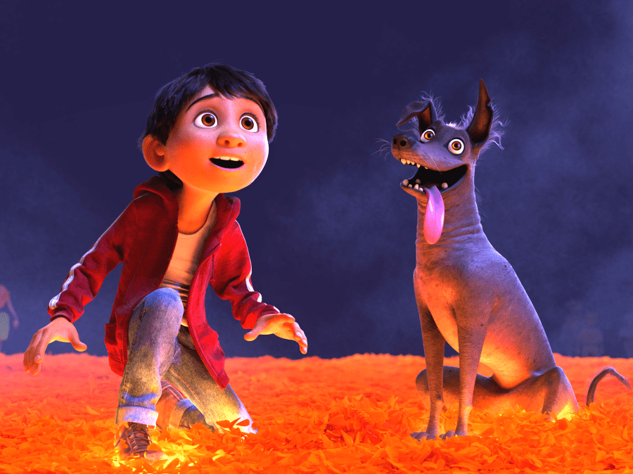Miguel and Dante Coco Disney Pixar movie