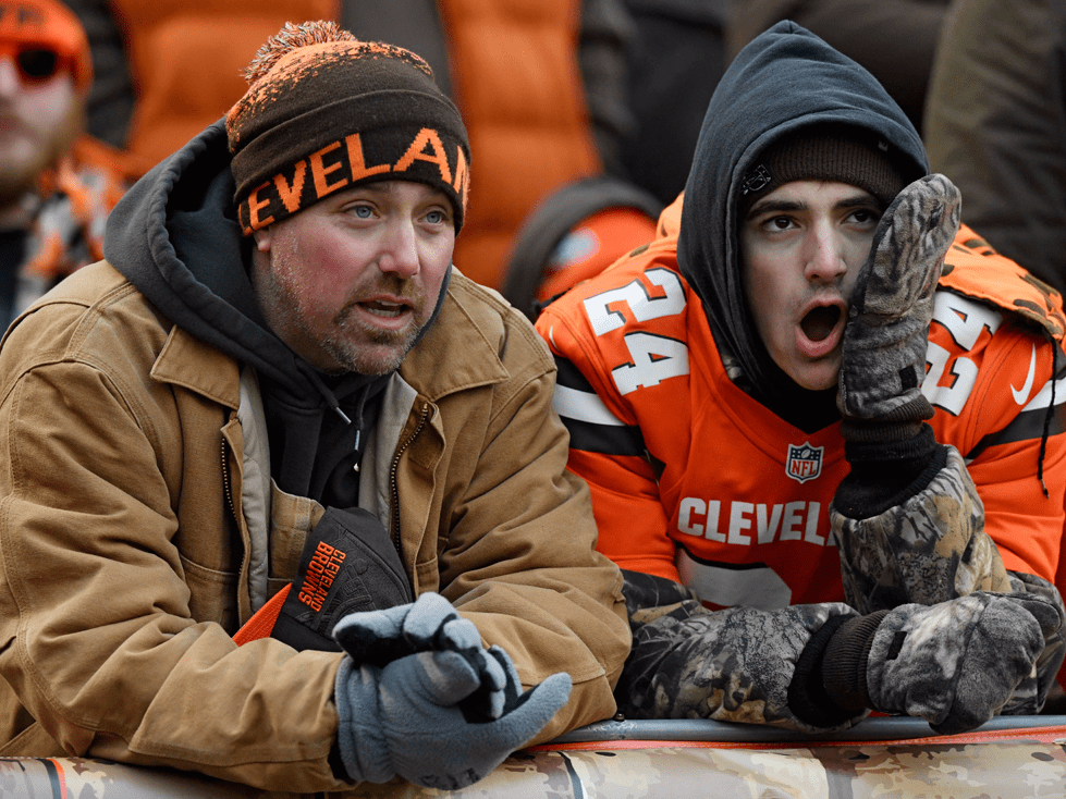 32. Cleveland Browns