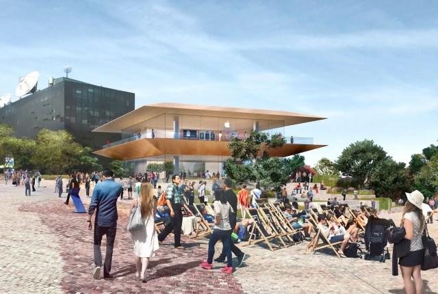 apple federation square architecture news australia melbourne
