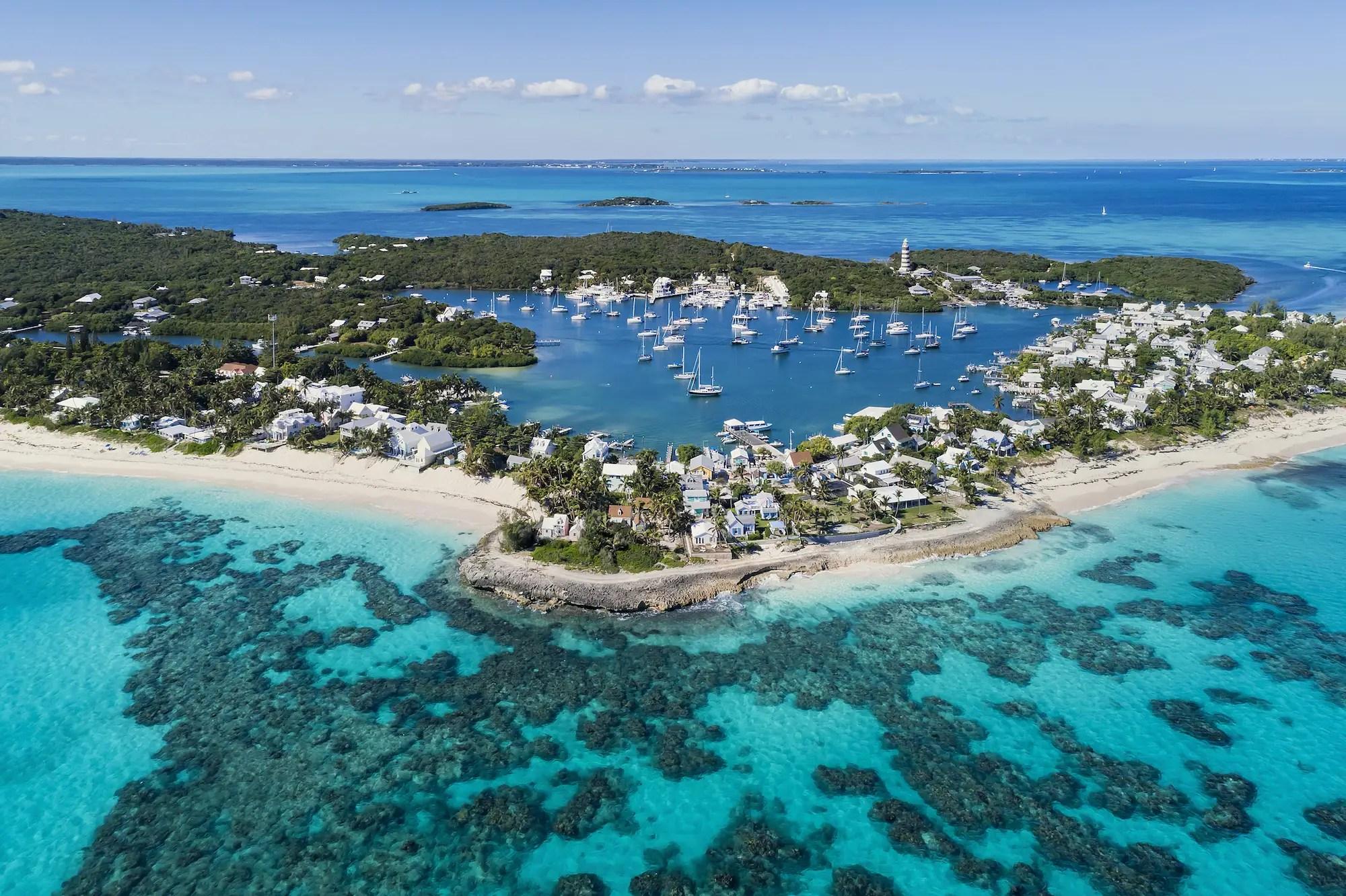 Hope Town Beach, Bahamas.
