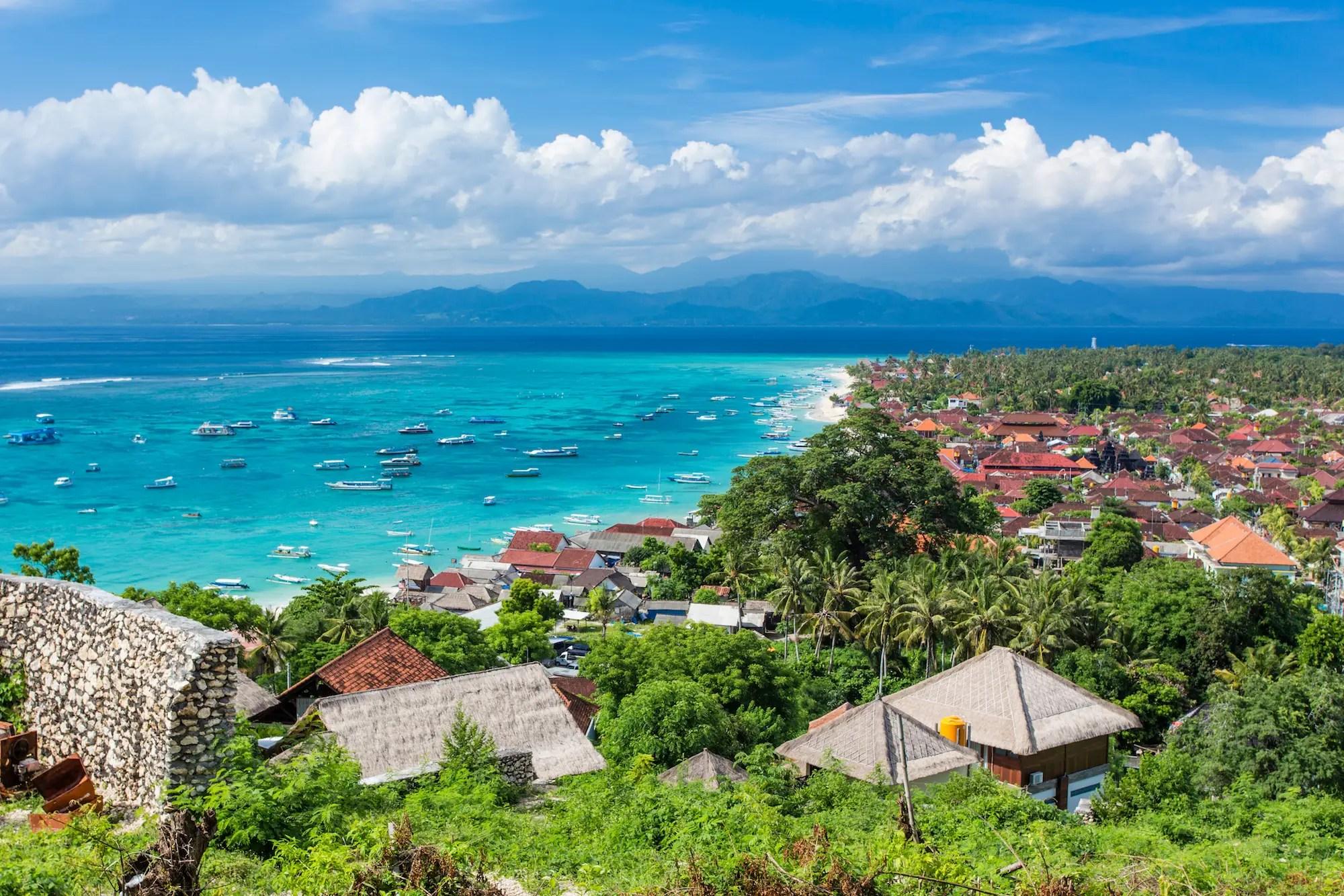 Nusa Lembongan, Bali, Indonesia.