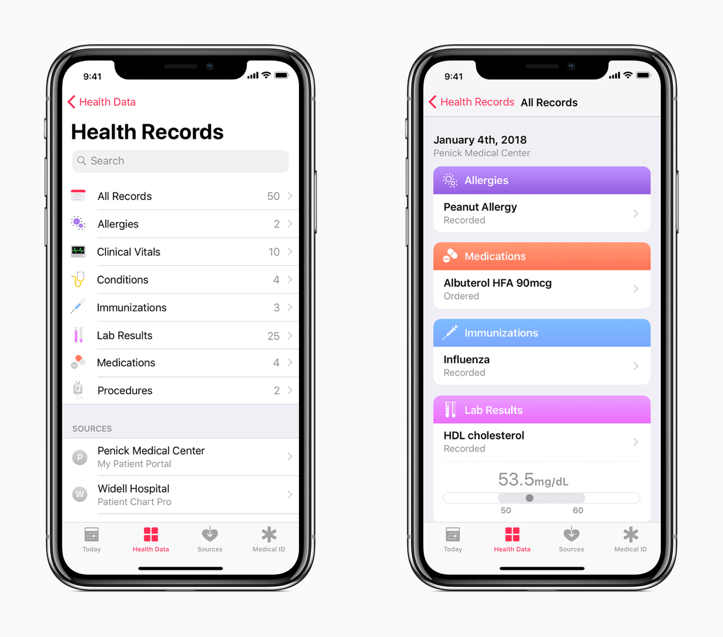 Image result for apple electronic medical records software