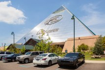 Memphis Pyramid Houses Bass Pro Shops And Hotel