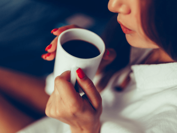 Drinking too much caffeine can be bad for you.