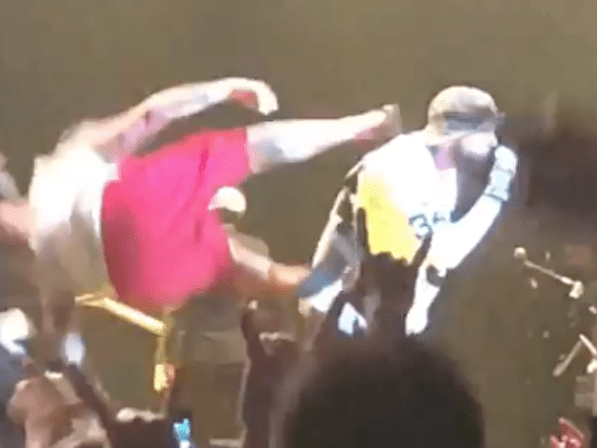 dropkick onstage
