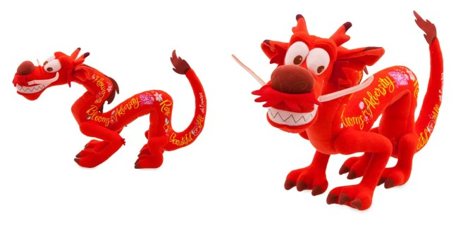 mushu stuffed animal disney wisdom collection