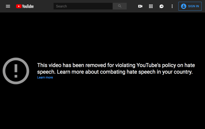 YouTube banned a 14-year-old conservative personality after she called the LGBTQ community pedophiles. The girl reportedly then posted a photo threatening YouTube HQ with something that looks like a gun.