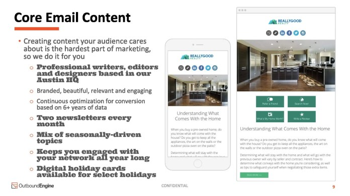 An Austin startup used this pitch deck to raise  million to help real estate agents, plumbers, and other small businesses operators better market themselves online