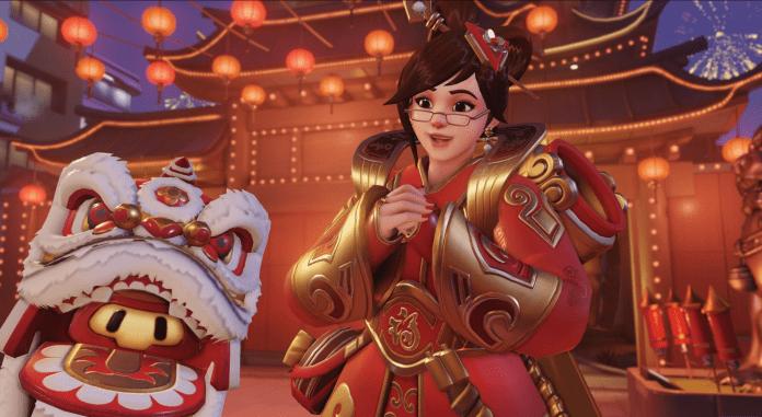 Mei Overwatch Lunar New Year China