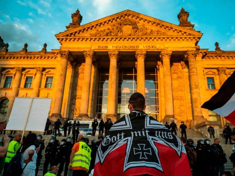 germany anti lockdown protest