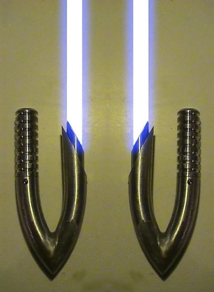 fan made lightsabers cooler