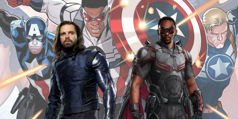 Resultado de imagen de falcon and the winter soldier