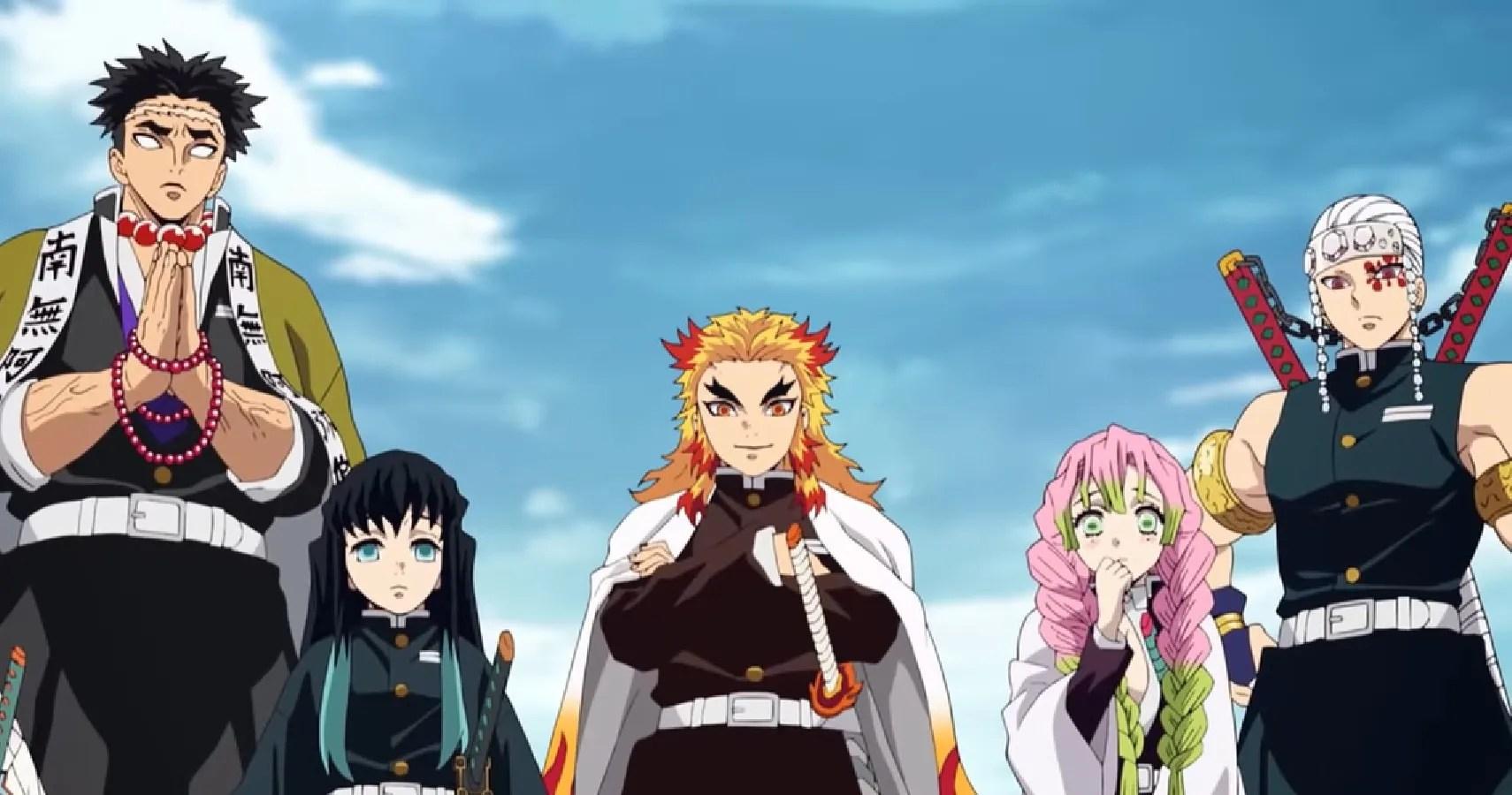 Ubuyashiki, the leader of the. Demon Slayer: Every Hashira, Ranked According to Strength ...