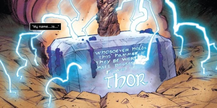 Thor Marvel Donny Cates Mjolnir