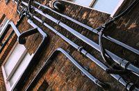 Drain pipes, guttering  Stock Photo  jahina #2285679