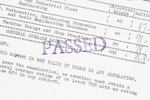 Vector Vintage Marriage Certificate. — Stock Vector