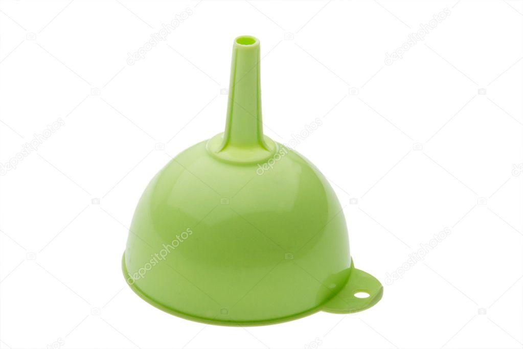 kitchen funnel glass tiles for 厨房漏斗 图库照片 c spe dep 2484042 绿色塑料厨房漏斗上白色隔离 照片作者spe