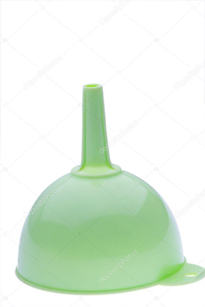 kitchen funnel where to buy appliances 绿色厨房漏斗 图库照片 c spe dep 2484109 在白色的绿色塑料厨房漏斗 照片作者spe