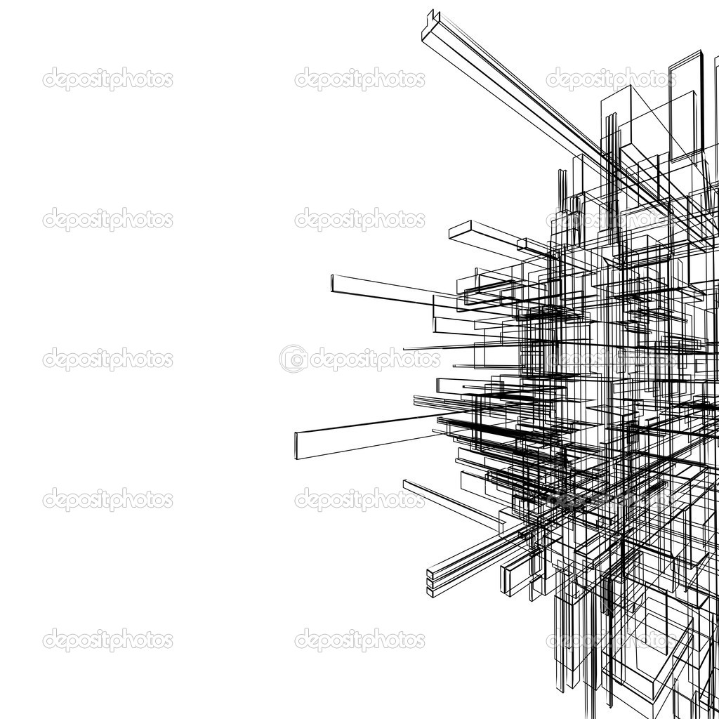 Abstract wireframe — Stock Photo © twistah #2043762