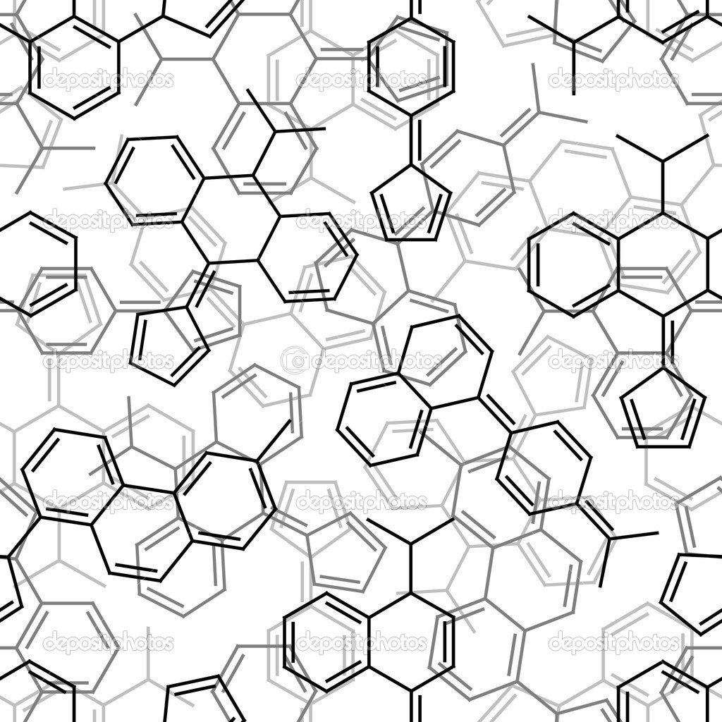 Seamless chemical pattern — Stock Vector © ihor_seamless