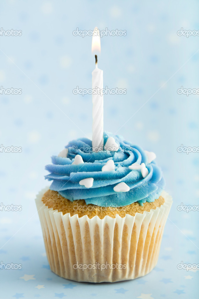 Birthday Cupcake — Stock Photo © RuthBlack #2260419