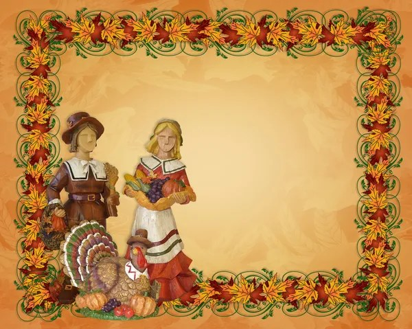 Fall Flowers Wallpaper Backgrounds Thanksgiving Autumn Background Border Stock Photo