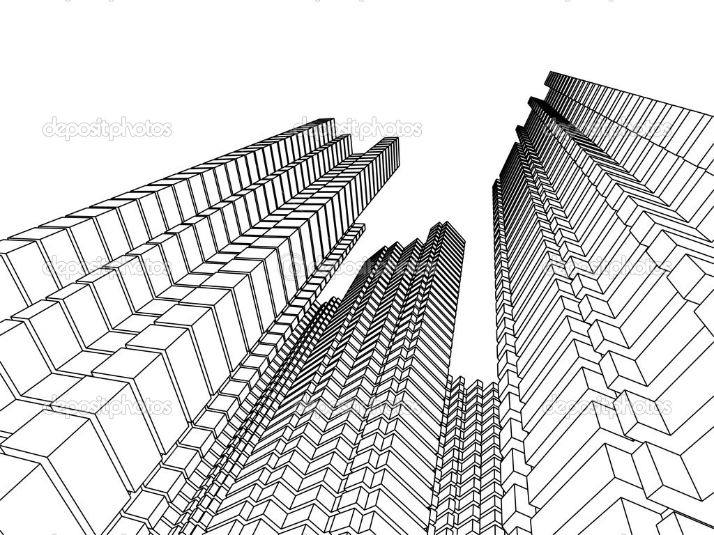 Architecture In Two Colors Stock Photo Ganzaless 2159417