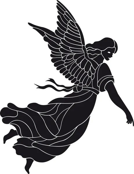 guardian angel stock vectors