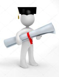 Holder of a masters degree  Stock Photo  kapley #2560162