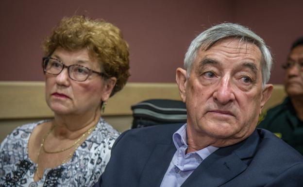 Los padres de Pablo Ibar durante el cuarto juicio.
