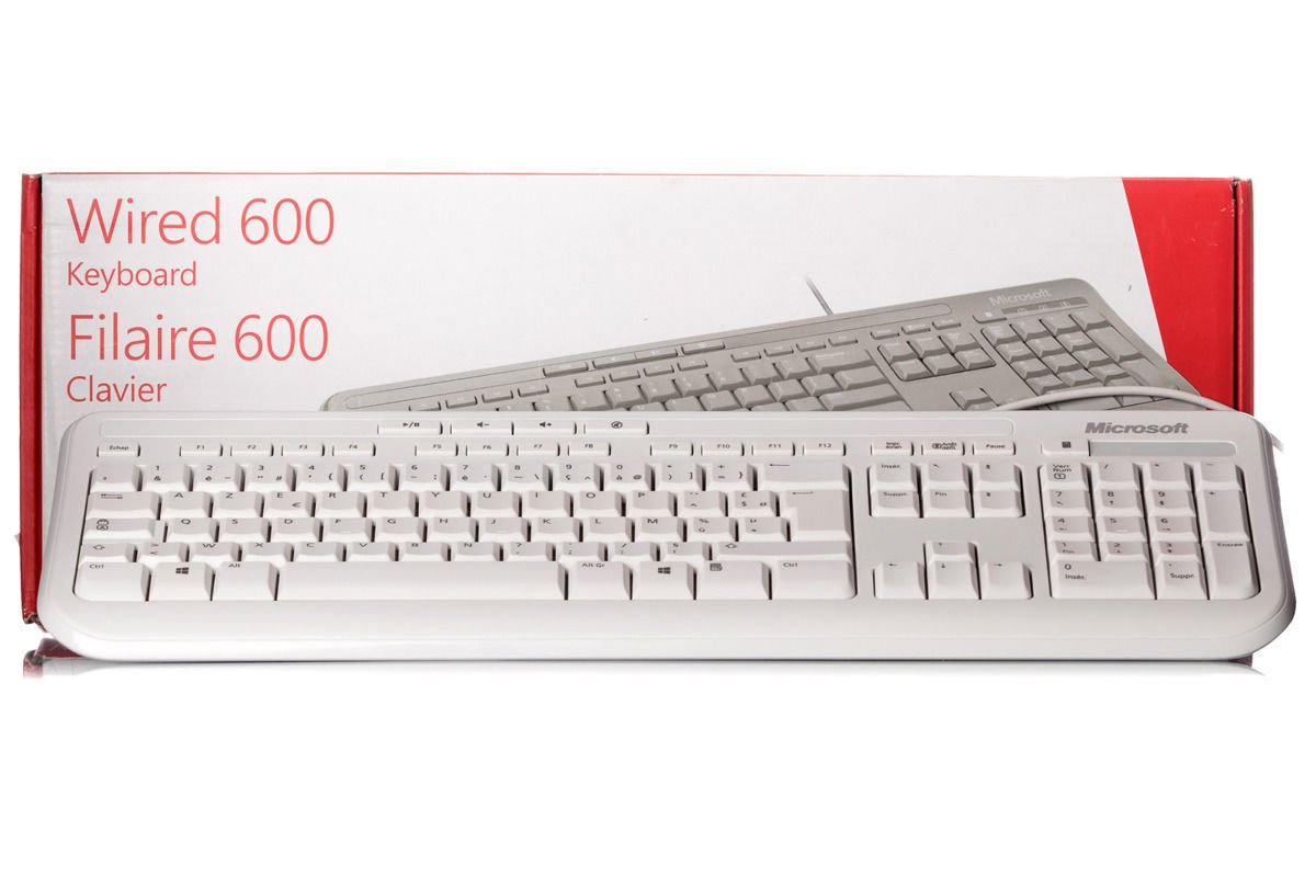 Old Fashioned Microsoft Wired Keyboard 400 Model - Everything You ...